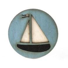 Значок WafWaf Кораблик