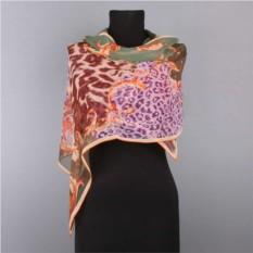 Женский шарф с леопардовым узором Marina Deste