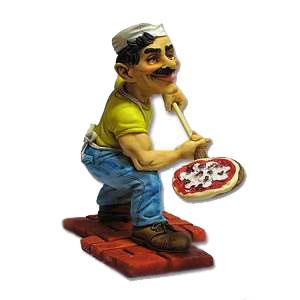 Фигурка пекаря пиццы