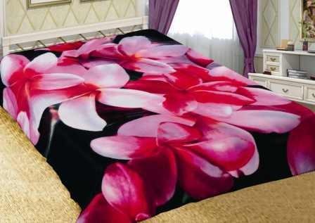 Плед Орхидеи (флис)