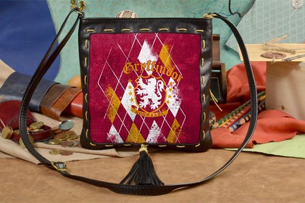 Женская сумка-планшет с принтом Гриффиндор