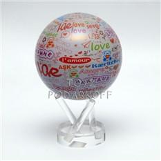 Глобус-мобиле LOVE  d 12