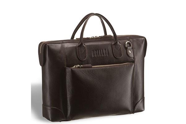 Деловая коричневая сумка Brialdi Atlanta