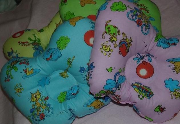 Подушка ортопедическая детская Бабочка