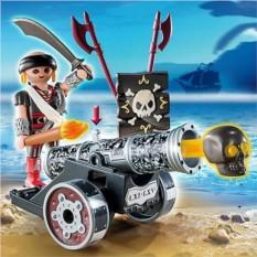 Конструктор Playmobil Черная пушка с морским пиратом