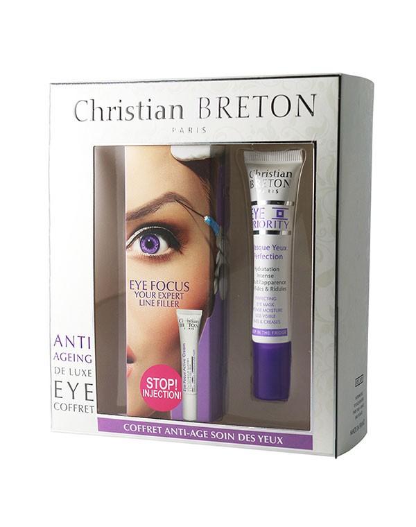 Набор для глаз «Стоп, инъекции!» Christian Breton