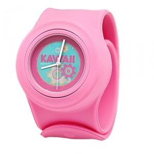 Слэп-часы Kawaii (розовые)