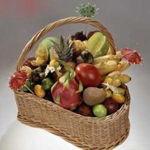 Корзина с фруктами: Плоды страсти