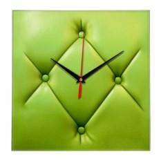 Настенные часы Пуф зеленый