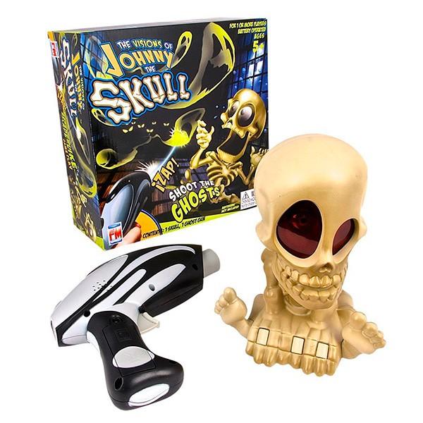 Интерактивная игрушка Череп с бластером