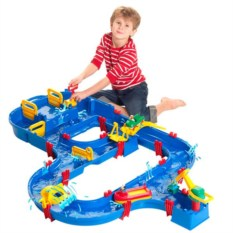 Детский игровой комплекс для игры с водой Шлюз + Гавань
