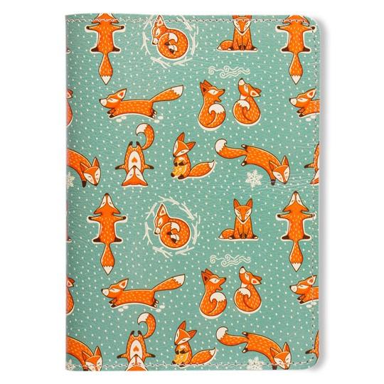 Обложка для паспорта Foxies