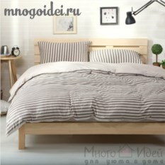 Комплект трикотажного постельного белья Кофе с молоком