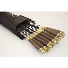 Шашлычный набор на 8 шампуров «Охота»