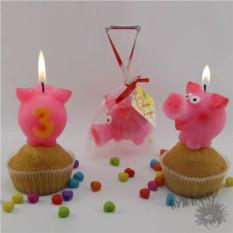 Свечи на торт Веселый Пятачок