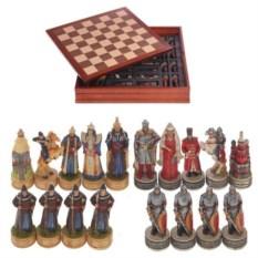 Шахматы в шкатулке Русские и татаро-монголы