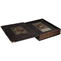 Альбом в коробе Русские иконы в драгоценных окладах