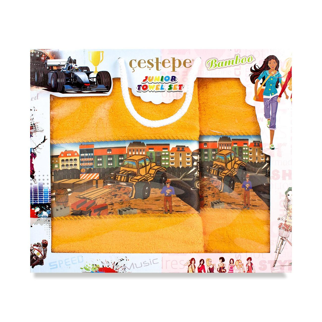 Комплект детских полотенец бамбук Krony (Karna)