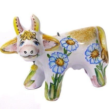 Ёлочная игрушка Коровка