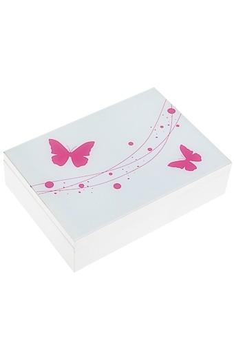 Шкатулка для ювелирных украшений Бабочки