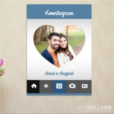 Постер на стену Lovestagram