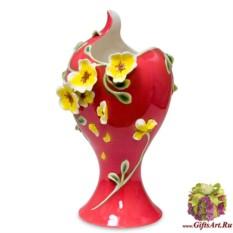 Фарфоровая скульптурная ваза Лето