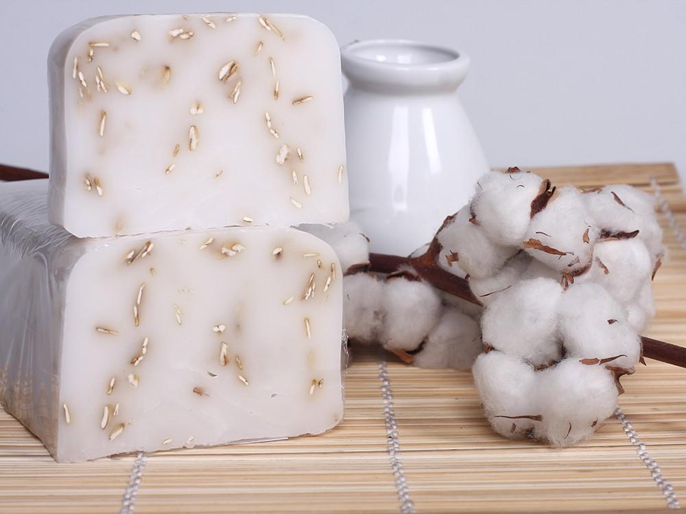 Мыло ручной работы Козье молоко