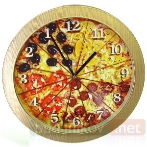 Часы с обратным ходом (Античасы) Пицца