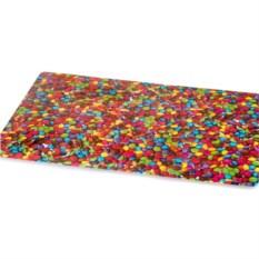 Салфетка под посуду Casa с изображением разноцветных камней