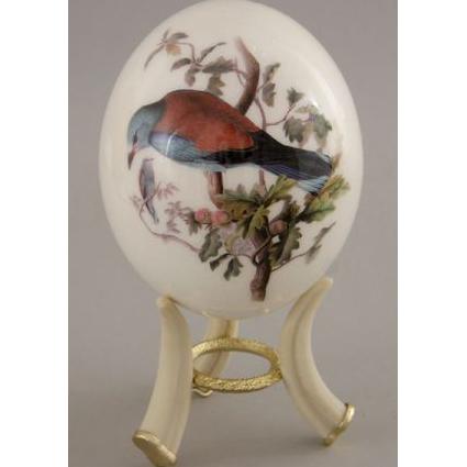 Страусиное яйцо «Птичка»