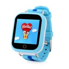 Голубые детские часы с GPS Smart Baby Watch GW200S