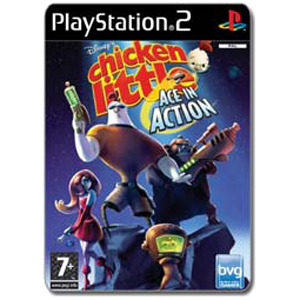 Chicken Little Ace In Action Ps2