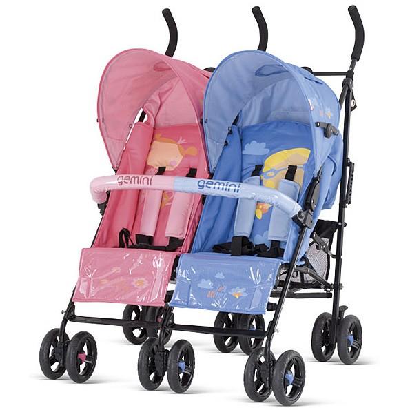 Детская коляска для двойни Gemini