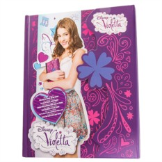 Дневник с магнитным замком Виолетта