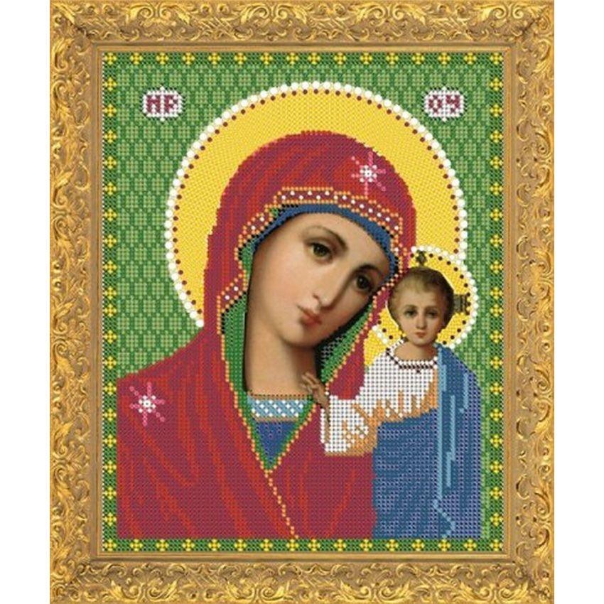 Набор для вышивания бисером Пресвятая Богородица Казанская