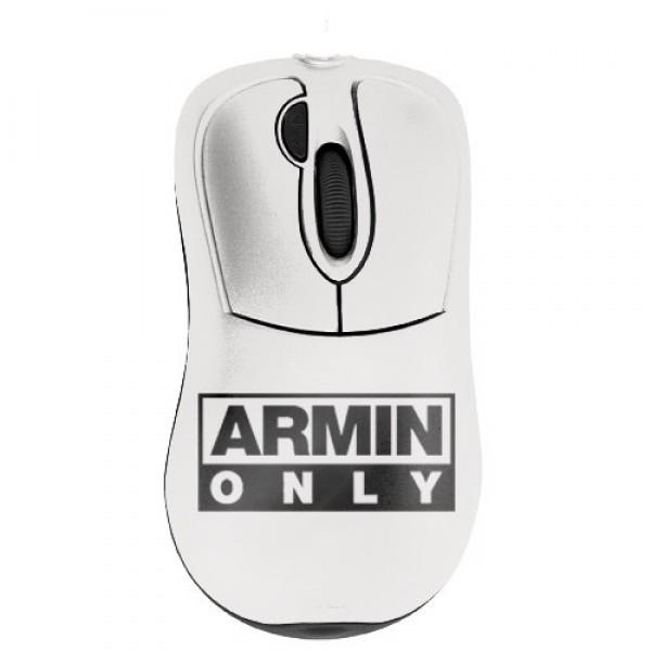 Прикольная мышь с дизайнерским принтом Armin only