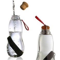 Красная эко-бутылка с фильтром Еau Good