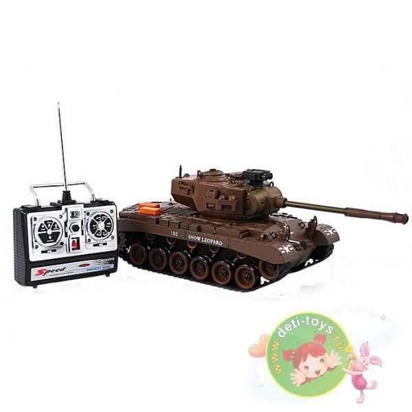 Радиоуправляемый танк Snow leopard