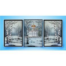 Картина Swarovski Владимирский собор