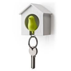 Хранитель для ключа Воробей Sparrow, белый/зеленый