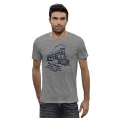 Мужская футболка Поезд