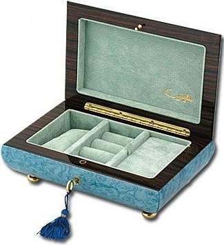 Шкатулка для драгоценностей и украшений Giglio GIG806, музыкальная