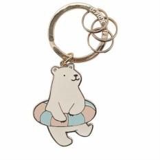 Брелок для ключей Bear swimmer