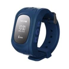 Синие умные детские часы с GPS Smart Baby Watch