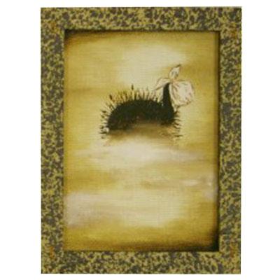 Картина «Ёжик спрятался в туман»