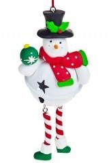 Новогодняя фигурга Новогодний снеговик