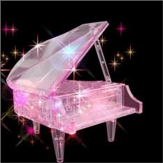 3D головоломка Розовый рояль