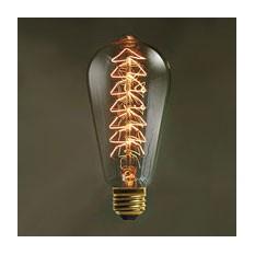 Лампочка  в стиле ретро