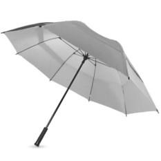 Серебристый механический зонт-трость Cardiff