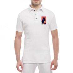 Мужская футболка polo Бетмен поп-арт